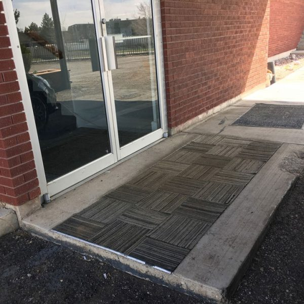 Provo Masonic Temple Front Door Current State