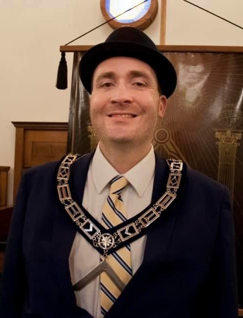 Danny Drew - Past Master for 2019