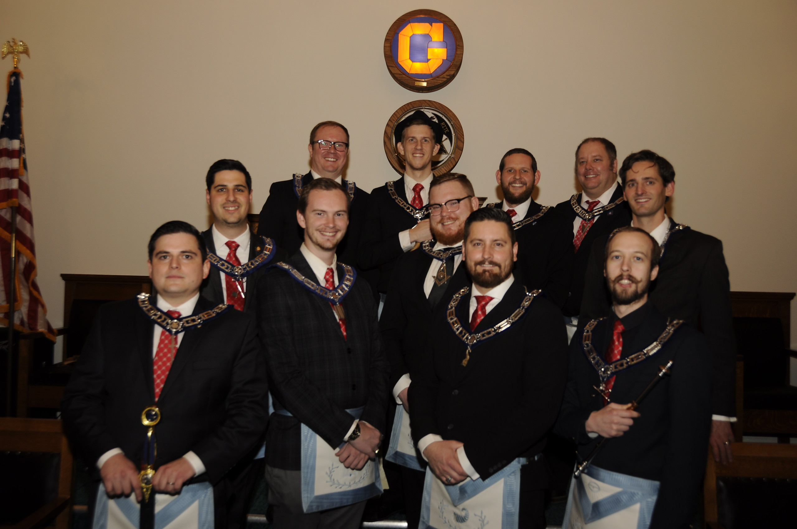 Provo Story Masonic Lodge Officers 2020